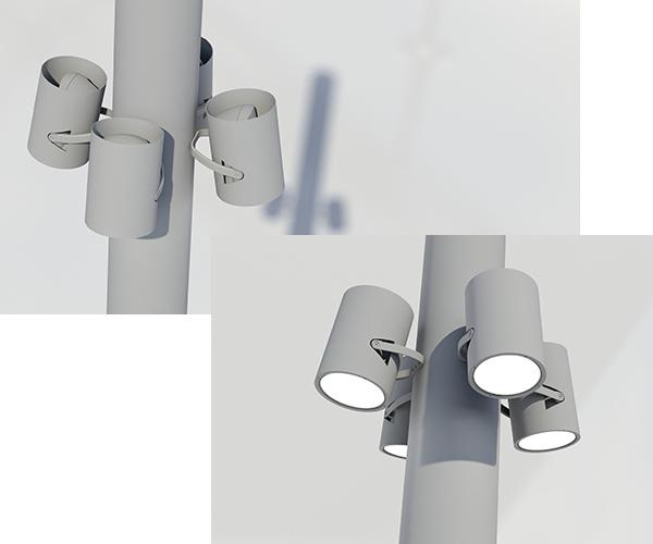 Schréder uses the latest 3D modelling software to design luminaires