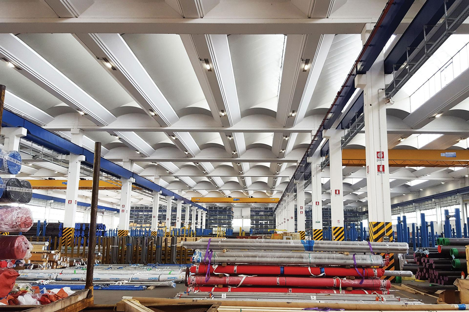Industry lighting solution improves lighting levels while cutting costs for CTA in Milan