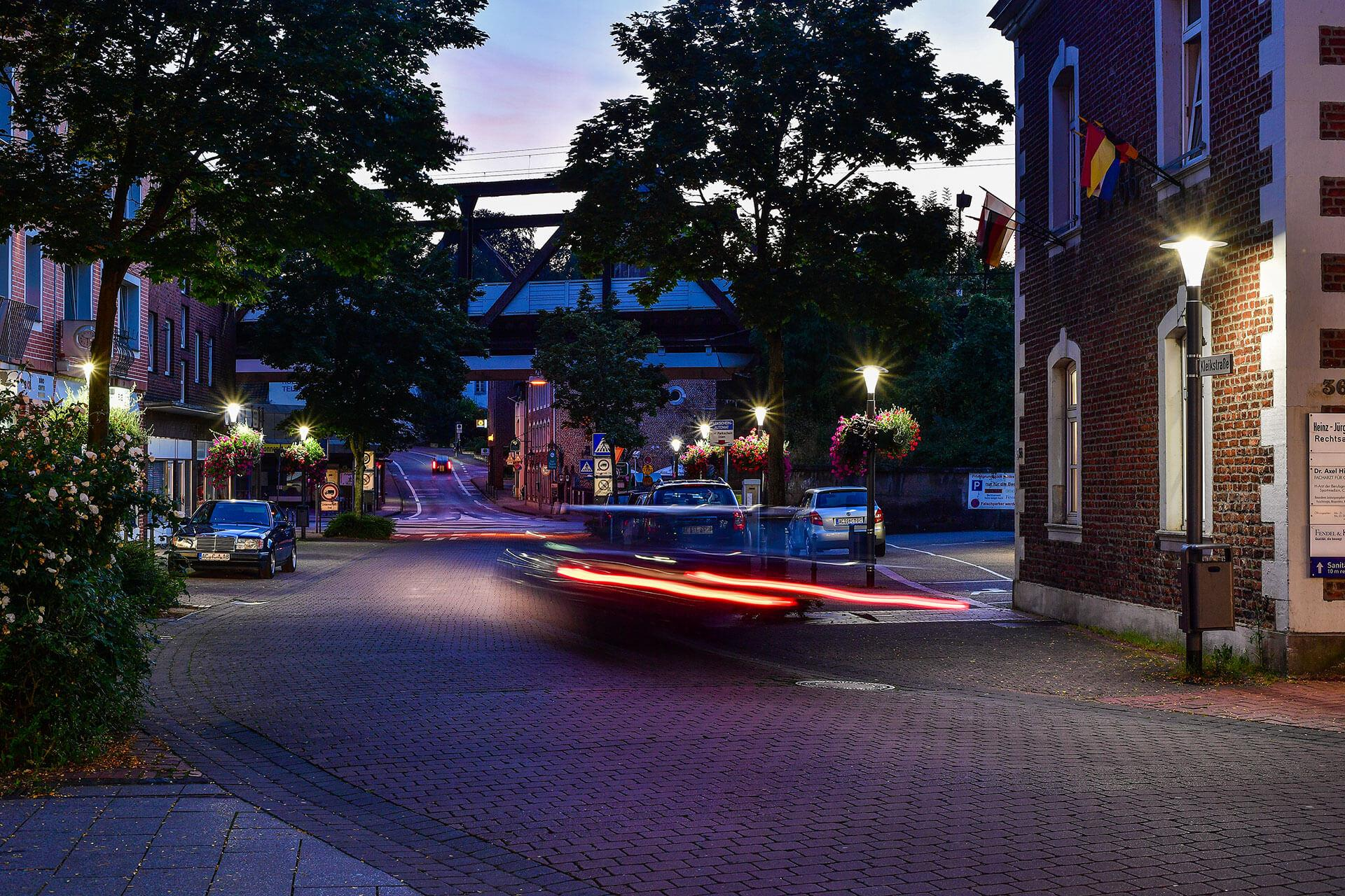 Pilzeo lights the streets of Herzogenrath and Würselen, improving safety while cutting energy consumption