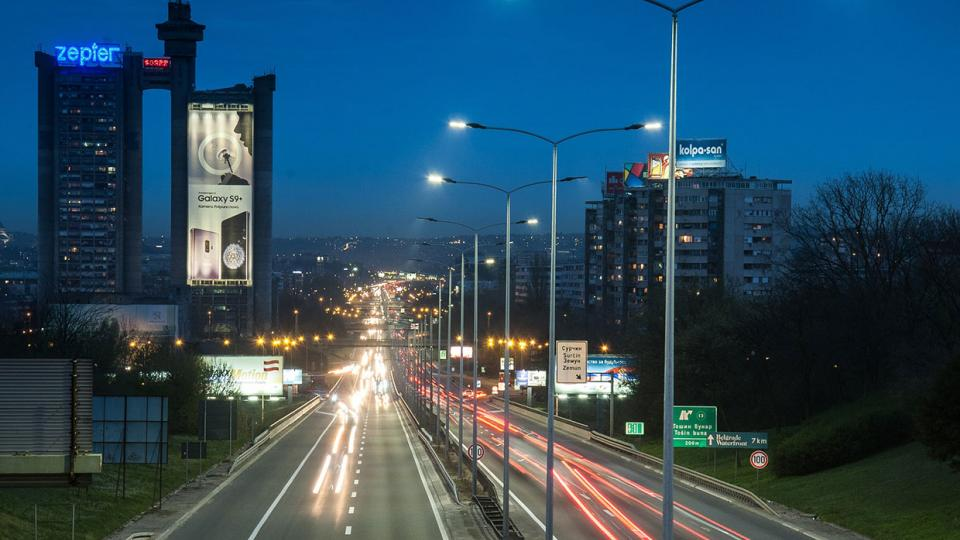 LED lighting solutions make roads perceptively brighter at night while delivering significant energy savings and a reduced carbon footprint